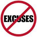 excuses image